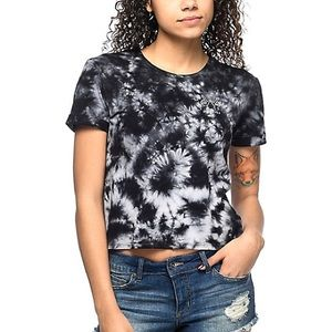 Empyre Yohanna Whatever Black Tie Dye Tee Shirt
